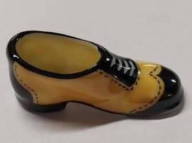 Chaussure porcelaine marron et noire