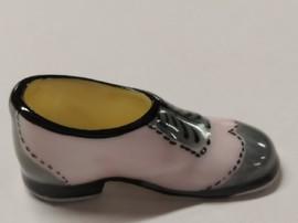 Chaussure porcelaine rose et grises